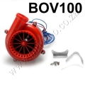 BOV100 RED Fake Dump Valve With LED Electronic Turbo