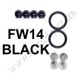 FW14 BLACK QUICK RELEASE FASTENERS