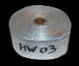 HW03 50*0.8mm 10m Aluminium Heat Wrap