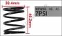 SP21 WASTEGATE SPRING 0.5 BAR FOR TURBOSMART