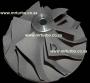 CW12 T72 Big Shaft Compressor Wheel