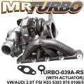 TURBO-039A-RS VW/AUDI 2.0T FSI WITH ACC VW/AUDI 2.0T FSI