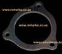 FL11 76mm 3 Bolt Exhaust Flange