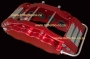 CAL06 8 Pot Caliper Set Red BMW