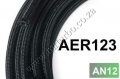 AER123 - AN12 Cotton Over Braided Fuel pipe
