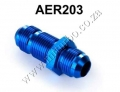 AER203 AN-10 to AN-10 FlARE BULKHEAD STRAIGHT MALE FUEL OIL HOSE