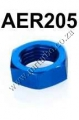 AER205 AN6 JIC BULKHEAD HEX NUT Fuel Oil
