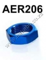 AER206 8AN AN8 AN-8 HEX NUT For Male Union Flare Bulkhead Fittin