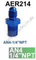 AER214 AN4-1/4'NPT FITTING
