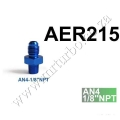 AER215 AN4-1/8'NPT FITTING