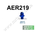AER219 AN10-M18* 1.5 FITTING FOR FP602 INLET