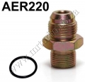 AER220 ENGINE OIL BLOCK ADAPRTOR M20 X 1.50 FITTING AN18