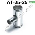 "AT-25-25 Universal BOV T-pipe 25mm 1"" outlet 25mm Blow Off Valve"