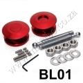 BL01 RED Quick Latch Mini Quik Latch Fastener