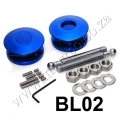 BL02 BLUE Quik Latch Mini Quik Latch Fastener