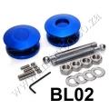 BL02 BLUE Quik Latch Mini Quik Latch Fastener