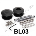 BL03 BLACK Quik Latch Mini Quik Latch Fastener