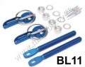 BL11 BLUE Racing Hood Bonnet Pin Kit