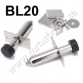 BL20 2pcs Stainless Chrome Door Poppers