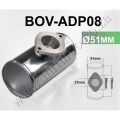 "BOV-ADP08 51MM 2"" ALLOY T PIECE PIPE"