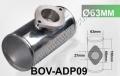 """BOV-ADP09 63MM 2.5"""" BOV T Tee PIPE"""