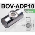 "BOV-ADP10 63MM 2.5"" NEW SSQV / BLOW OFF VALVE / BOV TURBO T-PIPE"