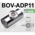 "BOV-ADP11 76MM 3"" BOV ADAPTER STRAIGHT PIPE"