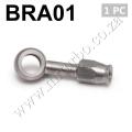 BRA01 AN-3 10mm 28 Degree Stainless Steel Banjo Eye Brake Hose F