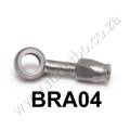 BRA04  Stainless Steel 10mm 7/16 Eye Banjo Hose Ends