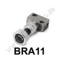 BRA11 Silver Brake Proportion Valve Adjustable
