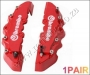 CAL00 BREMBO Look Brake Calliper Cover Kit Front 2pcs red