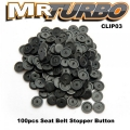 CLIP03 100pcs Seat Belt Stopper Button