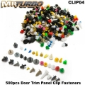 CLIP04 500pcs Door Trim Panel Clip Fasteners