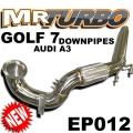 EP012 GOLF7 GTI R AUDI A3 S3 2L DOWNPIPE