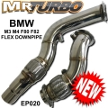 EP020 BMW DOWNPIPE M3 M4 F80 F82 (FLEX)