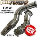 EP020BMW DOWNPIPE M3 M4 F80 F82 (FLEX)