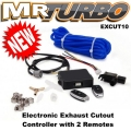 EXCUT10 Electronic Exhaust Cutout Controller with 2 Remotes