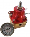 FPR05  Fuel Pressure Rulator Red-Slive Adjustable AN6 1/8 NPT Ga