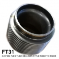 "FT31 2.25""X64 FLEX TUBE BELLOWS STYLE SMOOTH INSIDE"