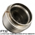 "FT32 2.5""X64 FLEX TUBE BELLOWS STYLE SMOOTH INSIDE"