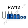 FW12 BLUE BILLET HOOD VENT SPACER