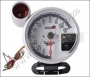 "GA07GAUGE- 5"" REVCOUNTER + SHIFT LIGHT TYPE-R, WHITE, 7 COLOR-LE"