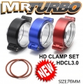 HDCL3.0 76MM HD CLAMP SET