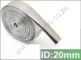 HW08 Heat Shield Sleeve Insulated Wire Hose Cover 20mm*10 meter
