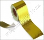 "HW10  SELF ADHESIVE REFLECT A GOLD HEAT WRAP 2""x5 meter Roll"