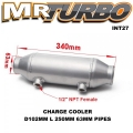 INT27 CHARGE CLLOER D102MM L 250MM 63MM PIPES