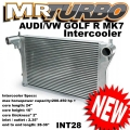 INT28 Intercooler For Audi A3/S3 VW Golf R MK7 EA888 1.8T 2.0T T