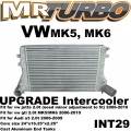 INT29 intercooler For Audi a3 fsi tsi 2.0t 06-10 vw gti jetta mk