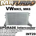 INT29 intercooler For Audi a3 fsi tsi 2.0t 06-10 vw gti jetta mk