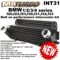 INT31 BMW 1/2/3/4 Series F20 F22 F32 Bolt On  Intercooler